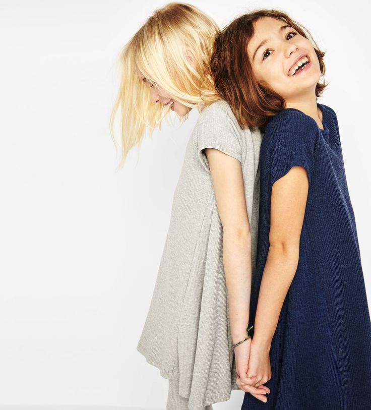 Ribbed collar dress-SHOP BY LOOK-GIRL | 4-14 years-KIDS | ZARA United States
