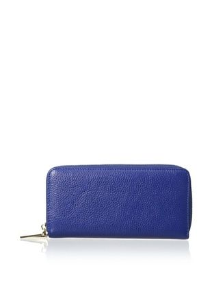 61% OFF Zenith Women's Double Zip Wallet, Cobalt