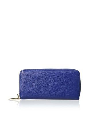 61% OFF Zenith Women's Double Zip Wallet, Cobalt