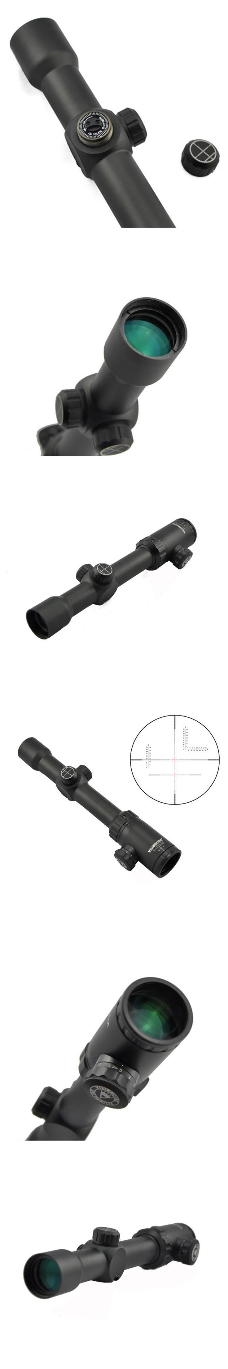 Visionking 1-12x30 Tactical Scope Riflescopes Mil-Dot 30mm Riflescope For Hunting Military Waterproof Rifle Scope Visionking