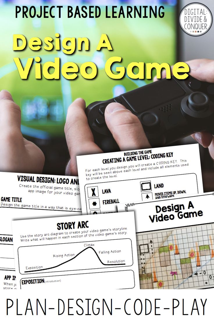 Project based learning that will take students through the video game designing process. Start with an idea, move into a story, and then develop the gameplay. Design a video game engages and encourages students to plan, develop, and code a game of their own creation. This cross curricular PBL is the perfect hook for students who love to play but never thought they could create their own game. With a focus on a mix of math, reading, writing, and design skills this PBL has something for…