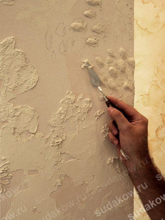238 besten drywall art magic bilder auf pinterest putz. Black Bedroom Furniture Sets. Home Design Ideas
