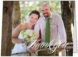 My Wedding Thank you Cards !  vistaprint.ca