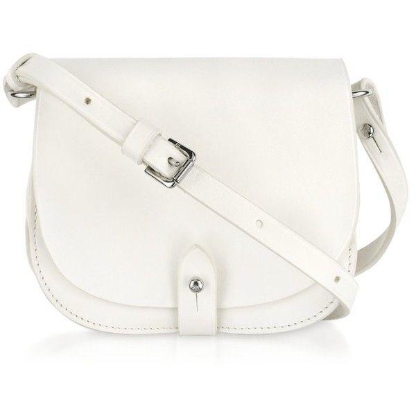 Ralph Lauren Collection Small Saddle Shoulder Bag