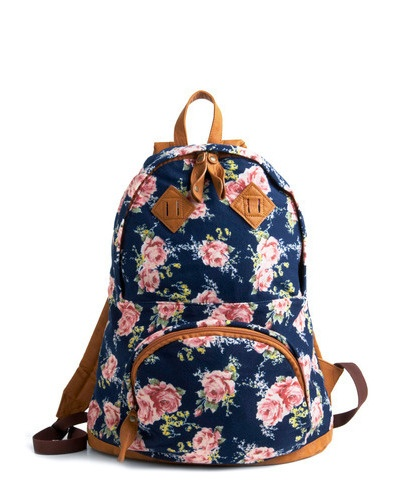 rosy backpackFashion, Clothing, Floral Backpacks, Totes Bags, Beautiful Backpacks, Bikes Beautiful, Accessories, Style Summer, Retro Vintage