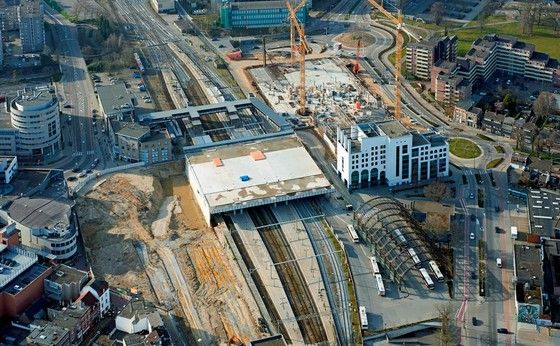 Redevelopment of the Heerlen Station - the new Moon Quarter