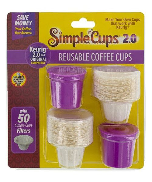 Look at this CucinaPro Simple Cups Reusable Coffee Cups Set on #zulily today!