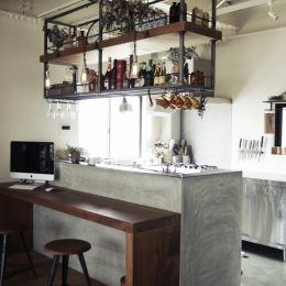 一戸建てリノベーション|名古屋市瑞穂区K邸の部屋 寿司屋のカウンターをリメイク