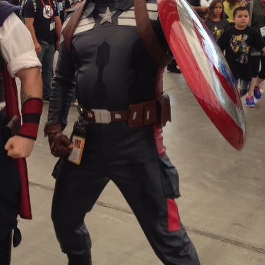 This is a Captain America costume from Captain America: The Winter Soldier. Please email me at cosplaymandy@gmail.com Follow me on Facebook https://www.facebook.com/cosplaymandycommission/ #cosplay #costume #moviecostume #CaptainAmerica #WinterSoldier #Cap #Marvel #Marvelcosplay #Marvelcostume #marvelmoviecostume #marvelmoviecosplay #captainamericacosplay #captainamericacostume #cos #capcosplay #capcostume #wintersoldiercosplay #wintersoldiercostume