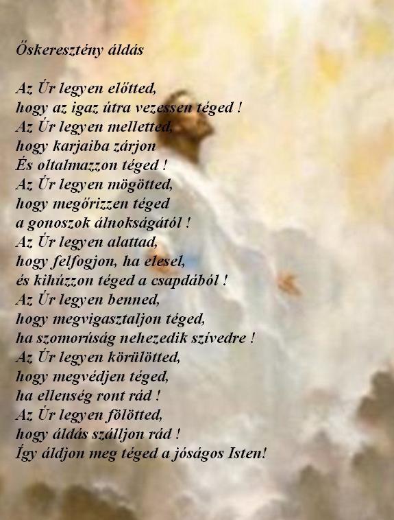 ókeresztény áldás