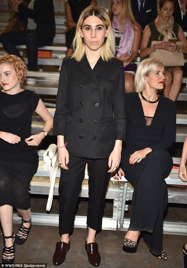 Business casual: Zosia Mamet showed her style as she made an appearance at the 3.1 Phillip...
