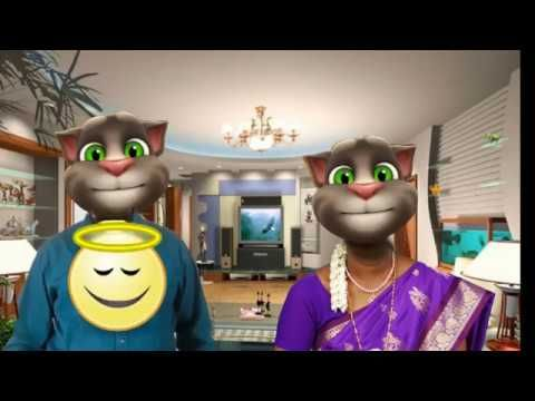 Tamil jokes |comedy collection | talking tom comedy | tamil funny video|...