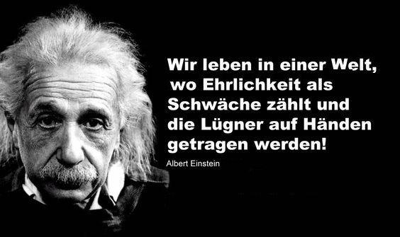 Pin von Christl Aux auf Einstein | Einstein zitate, Albert ...