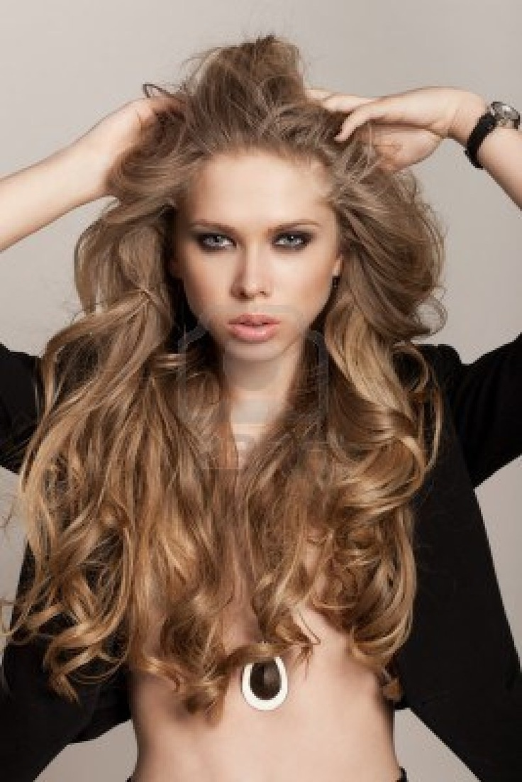 Long Wavy Hair Hairstyles 17 Best Images About Womans Long Hairstyles On Pinterest