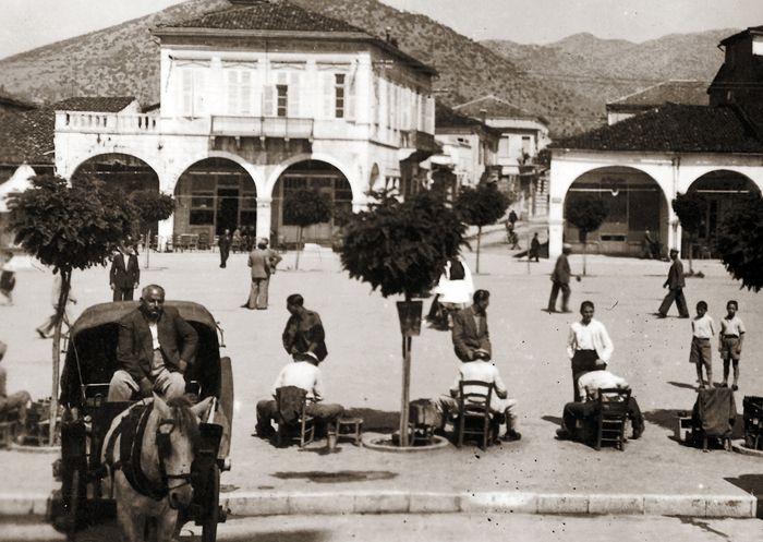 Πλατεία Αγ Βασιλείου 1930.