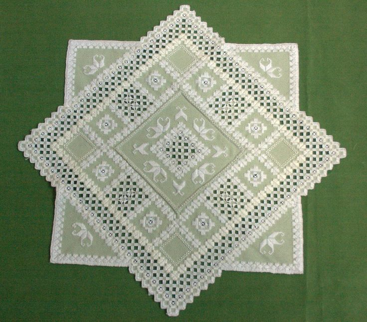 Montana Arts Council: Hardanger Embroidery