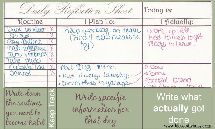 Simple Routine Tracker and Day Planner | Blessedly Busy