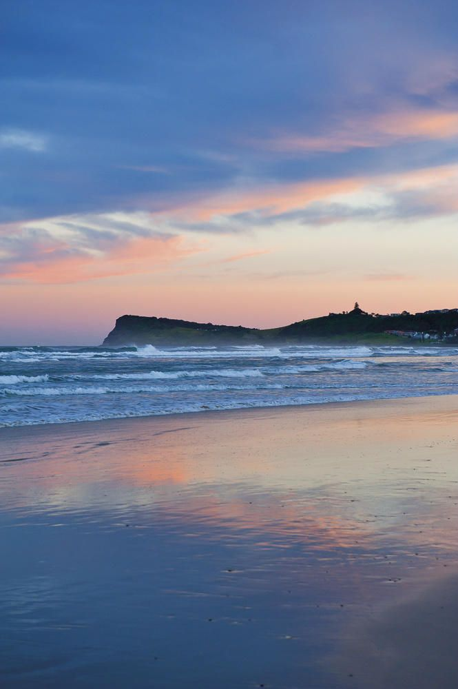 Seven Mile Beach at Lennox Head on the New South Wales north coast