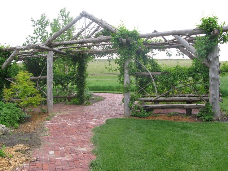 Natural Cedar Pergola Gardening Pergola Garden Garden