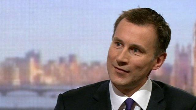 Social care: Jeremy Hunt hails 'fully-funded solution'