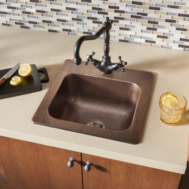 Features:  -Crafted from the finest pure solid copper available.  -Incredible value, built to be the best quality sink at the best price.  -18 Gauge industry leading 99.98% pure solid copper.  -Innova