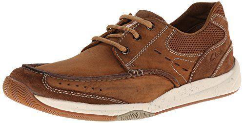 Clarks Men's Allston Edge Tan Lace-Up Shoes – 9.5 D(M) US