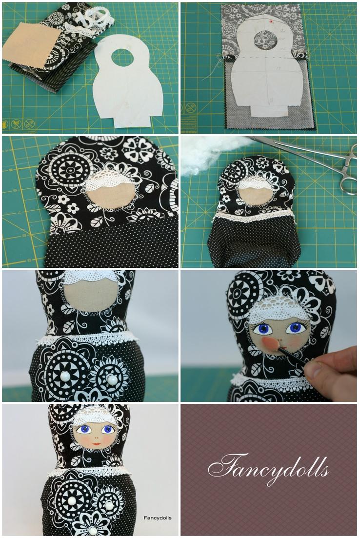 DIY: Russian Cloth Doll - Love Babushkas :*