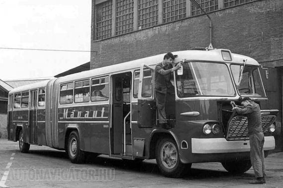 Ilyen csuklós Ikarust nem gyártottak Mátyásföldön, ezt 620-as alapú változatot a Fővárosi Autóbuszüzem prototípusa alapján a Mávaut gyártotta a saját javítóműhelyében, mert az 1960-as évektől szükség mutatkozott nagy befogadóképességű járművekre