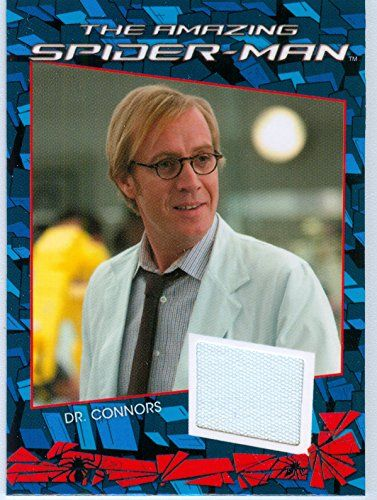 2012 Marvel Authentic The Amazing Spider-Man Dr. Connors Costume Material Card RHYS IFANS @ niftywarehouse.com #NiftyWarehouse #Spiderman #Marvel #ComicBooks #TheAvengers #Avengers #Comics