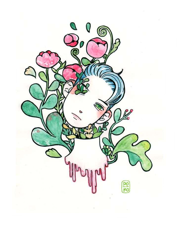 Flower boy  by Doko
