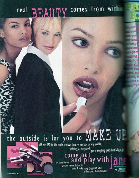 Jane Print Ad, 1996
