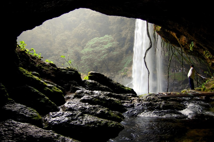 #MEXICO. cascada de Misol-Ha (Palenque - Chiapas)