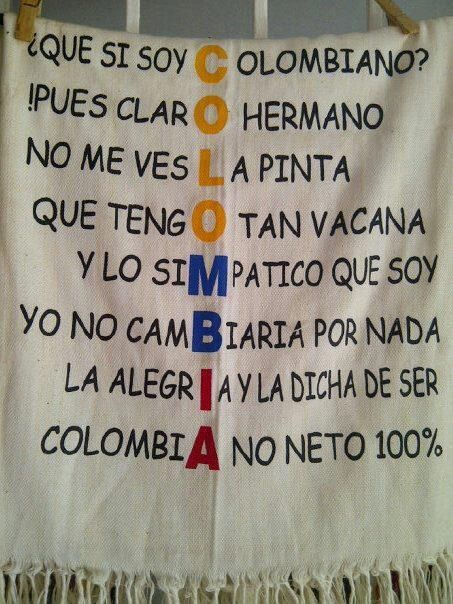 ❤ORGULLOSAMENTE COLOMBIANA♥