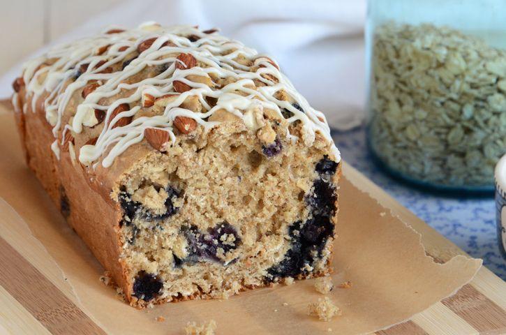 Bread, Breakfast Idea, Quick Bread, Blueberry Oat Breakfast