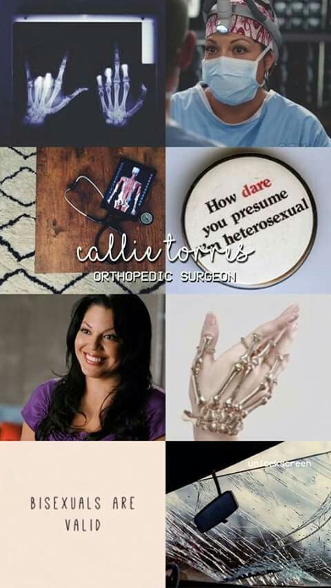 Ortho Calliope Torres Greys Anatomy wallpaper