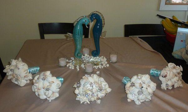 DIY Wedding Challenge 2010: Sea Shell Bouquet - Project Wedding