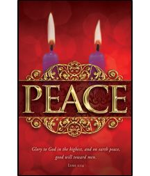 Advent Bulletin - Peace | Advent, Christian christmas ...