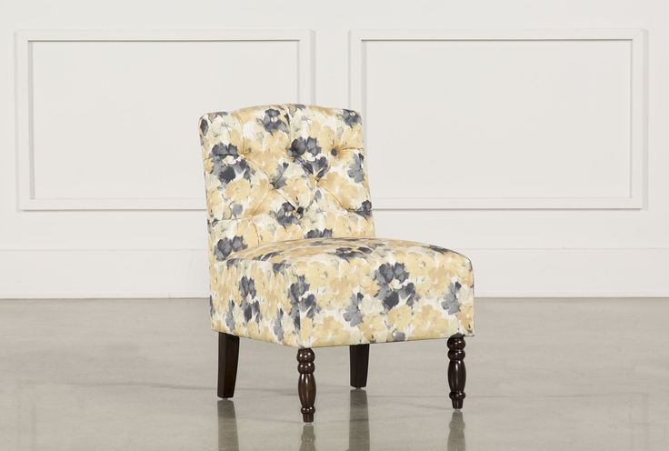 Priscilla Yellow Accent Chair