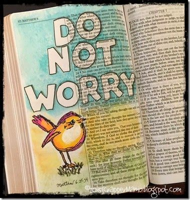 Bird Bible Journaling. Beautiful
