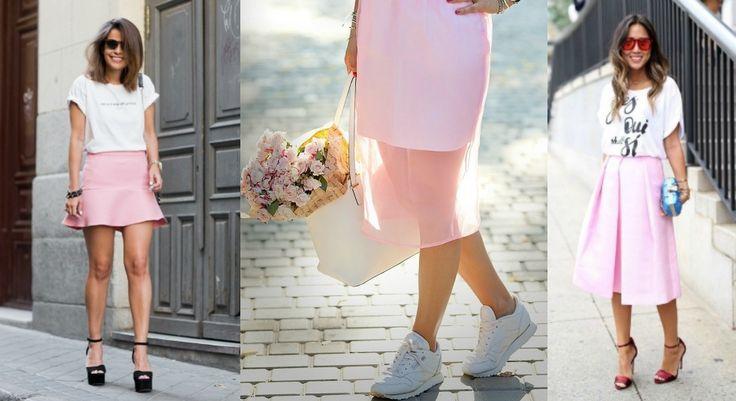 Μόδα καλοκαίρι 2016: Pink skirt - 7+1 τρόποι να φορέσεις την ροζ φούστα το καλοκαίρι