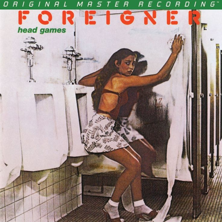 Foreigner - Head Games on Numbered Limited Edition Hybrid SACD from Mobile Fidelity