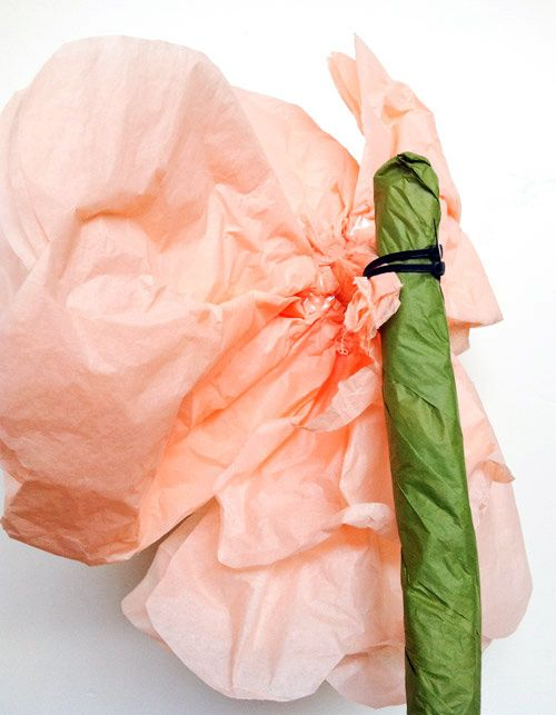 Doesn't everyone need to know how to make giant tissue paper flowers?