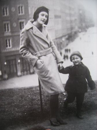 Astrid Lindgren with her son. Great writer and inspiration.