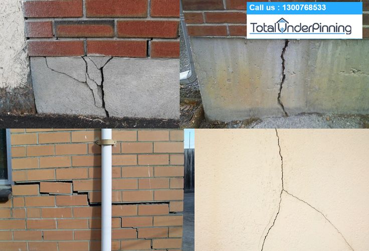 If you see visible cracks started to appear on your home walls. Do not wait… Call Total Underpinning Melbourne. We are available 24 hours to help you to underpin your home and will make the foundation stronger than ever before.