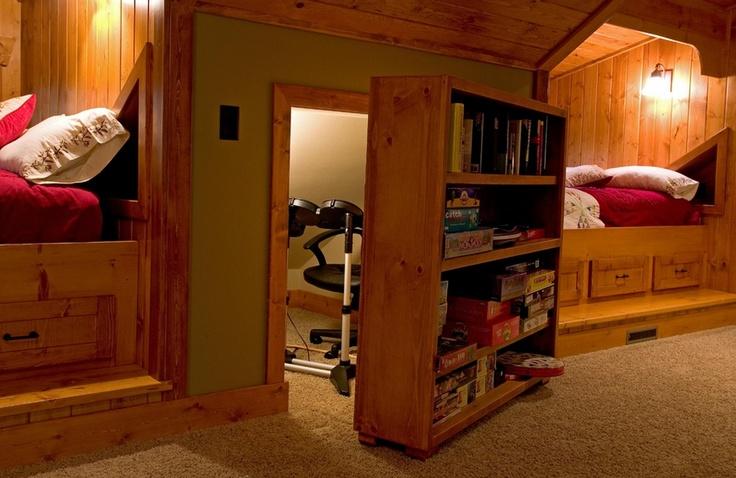hidden storage cubby