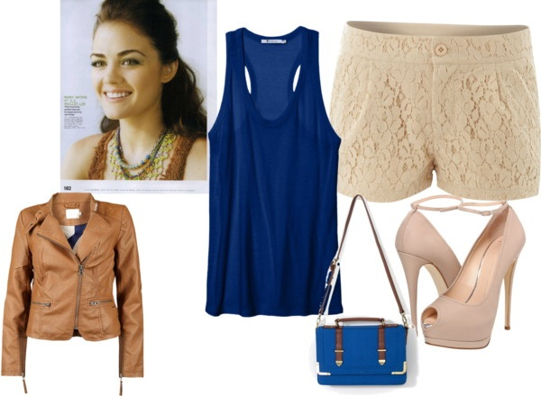 """Perfect Lucy Hale Outfit"" by afashdiva on Polyvore"