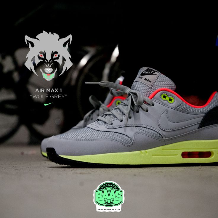 "#nike #airmaxone #wolfgrey #sneakerbaas #baasbovenbaas #yeezy  Nike Air Max One ""Wolf Grey"" - AKA THE YEEZY RESTOCK!, priced at € 134,99  For more info about your order please send an e-mail to webshop #sneakerbaas.com!"