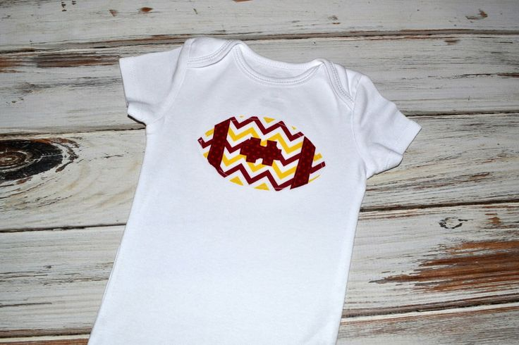 FSU Football Baby Onesie - Garnet Maroon Gold Football Chevron Onesie FSU Baby Football Garnet Gold Baby by SweetStitchesDesign on Etsy https://www.etsy.com/listing/208779787/fsu-football-baby-onesie-garnet-maroon