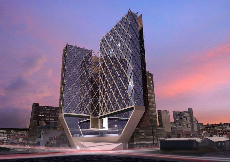 Durban Skytree . Tiago Do Vale Arquitectos