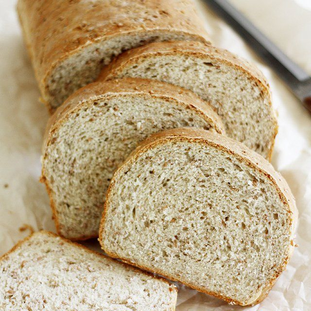 A delicious sandwich bread made with cracked wheat. Recipe from Red Star Yeast.